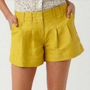 Anthropologie Cartonnier Linen Silk Blend Shorts 2